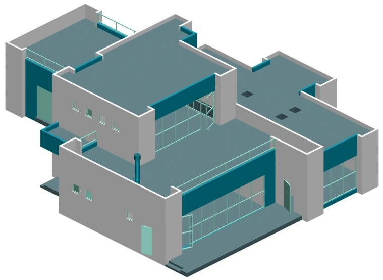 Big modern houses plans House plans