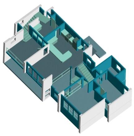 Ultra modern floor plans | Modern Home Plans
